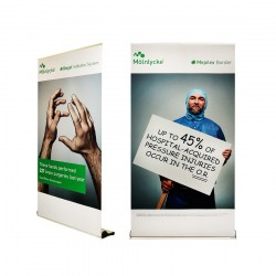 Premium Retractable Banner Stand - Q120
