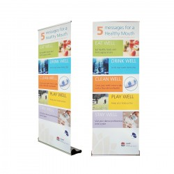Premium Retractable Banner Stand - Q80