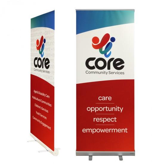 Economical Retractable Banner Stand - E80