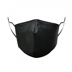 Bow Style Face Mask - Black 5 Pack
